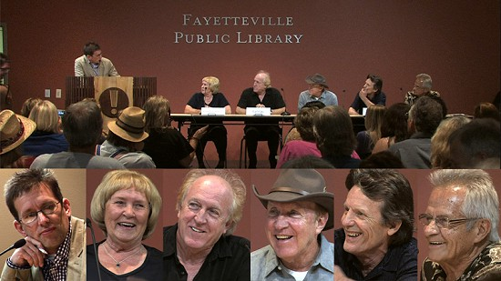 Panel Discussion - Ain't in It for My Health: A Film About Levon Helm  © Pryor Center for Arkansas Oral and Visual History, University of Arkansas