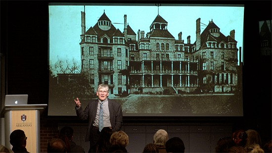 Pryor Center Presents George Sabo - Surprise Encounter with Crescent Hotel History in Eureka Springs © Pryor Center for Arkansas Oral and Visual History, University of Arkansas