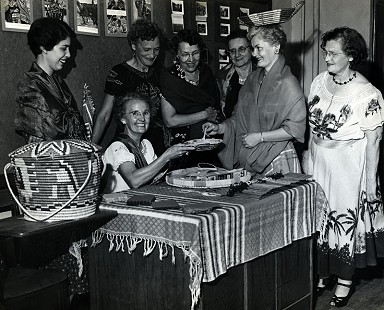 Garland County project, ca. 1953; Garland County Extension Homemaker's Club Records MC1117 © Pryor Center for Arkansas Oral and Visual History, University of Arkansas