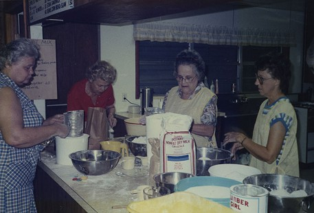 Doughnut mix, Lakeshore Home Demonstration Club, 1985; Garland County Extension Homemaker's Club Records MC1117 © Pryor Center for Arkansas Oral and Visual History, University of Arkansas