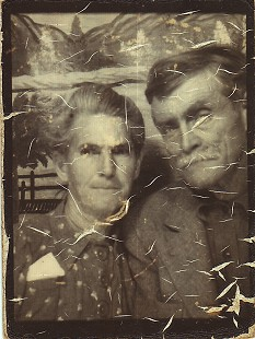 "Maudie Loucretia Roussel Junior and her husband, Timothy ""Lee"" Leander Jr., great-grandparents of Mike Beebe and parents of Ila Adcox © Pryor Center for Arkansas Oral and Visual History, University of Arkansas"