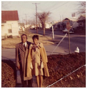 Troy and Gladys Alley, parents of Gerald Alley © Pryor Center for Arkansas Oral and Visual History, University of Arkansas