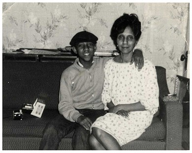 Young Gerald Alley with his mother, Gladys Alley © Pryor Center for Arkansas Oral and Visual History, University of Arkansas