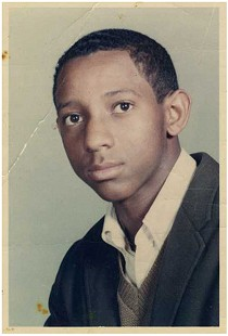 Young Gerald Alley © Pryor Center for Arkansas Oral and Visual History, University of Arkansas