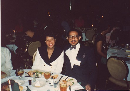 Gerald and Candace Alley at a banquet © Pryor Center for Arkansas Oral and Visual History, University of Arkansas