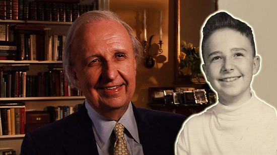 Composite image of early photo of Morris Arnold and still frame from Pryor Center video interview © Pryor Center for Arkansas Oral and Visual History, University of Arkansas