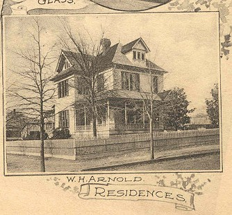 W. H. Arnold residence in Texarkana © Pryor Center for Arkansas Oral and Visual History, University of Arkansas