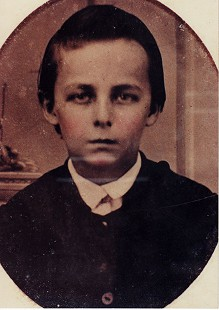 William H. Arnold, grandfather of Morris Arnold, at age 10; ca. 1870 © Pryor Center for Arkansas Oral and Visual History, University of Arkansas