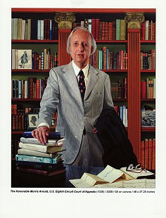 Portrait of Judge Morris Arnold, 2008 © Pryor Center for Arkansas Oral and Visual History, University of Arkansas