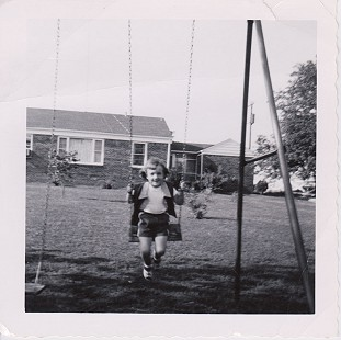 Ginger Beebe on the swing at her home in Searcy, Arkansas © Pryor Center for Arkansas Oral and Visual History, University of Arkansas