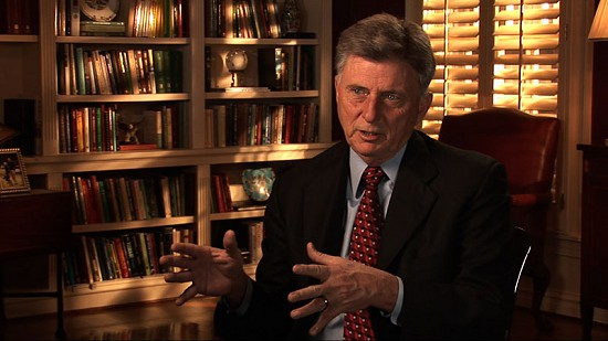 Still frame from Pryor Center video interview with Governor Mike Beebe at the Governor's Mansion; Little Rock, Arkansas, 2008 © Pryor Center for Arkansas Oral and Visual History, University of Arkansas