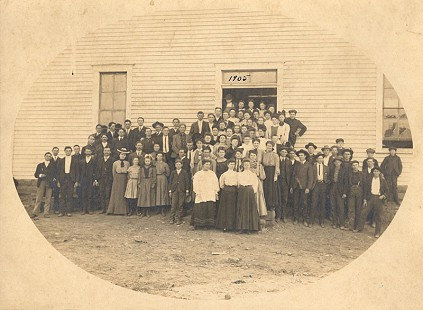 Schoolchildren and teachers in Marshall, Arkansas, 1905 © Pryor Center for Arkansas Oral and Visual History, University of Arkansas