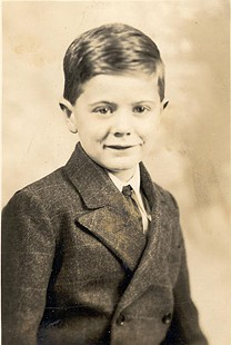 Childhood portrait of Jim Blair © Pryor Center for Arkansas Oral and Visual History, University of Arkansas