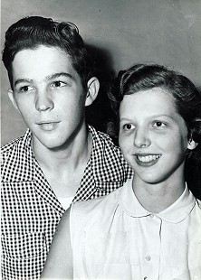 Phyllis Dillaha (Brandon) and Wesley Pruden © Pryor Center for Arkansas Oral and Visual History, University of Arkansas