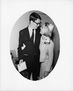 Robert and Charlotte Brown on their wedding day, 1966  © Pryor Center for Arkansas Oral and Visual History, University of Arkansas