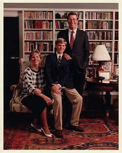 Robert L. Brown with his wife, Charlotte, and son, Stuart                          © Pryor Center for Arkansas Oral and Visual History, University of Arkansas