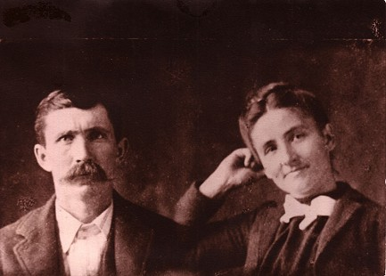 Betty Flanagan Bumpers's grandparents, Thomas Lee and Elizabeth Ann Flanagan, ca. 1891 © Pryor Center for Arkansas Oral and Visual History, University of Arkansas