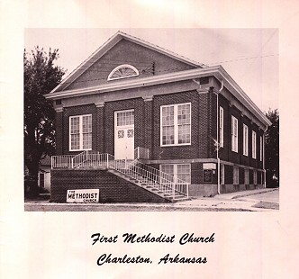 First Methodist Church in Charleston, Arkansas, where Dale and Betty Bumpers were married © Pryor Center for Arkansas Oral and Visual History, University of Arkansas