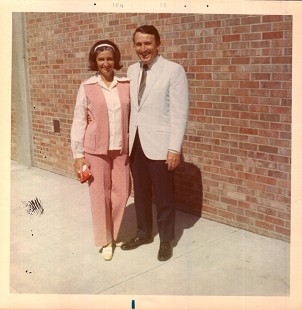 Dale and Betty Bumpers in Iowa, June 1970 © Pryor Center for Arkansas Oral and Visual History, University of Arkansas