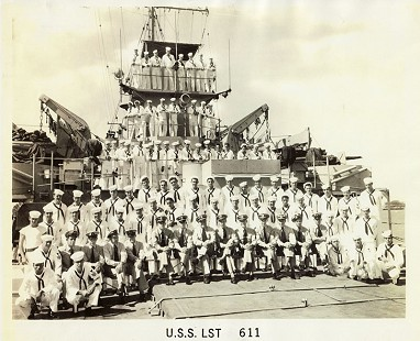 US Navy ship, the USS <i>LST-611</i> © Pryor Center for Arkansas Oral and Visual History, University of Arkansas