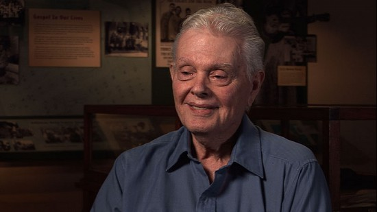 Still frame from Pryor Center video interview with Ed Burks at the Delta Cultural Center; Helena-West Helena, Arkansas, 2011 © Pryor Center for Arkansas Oral and Visual History, University of Arkansas