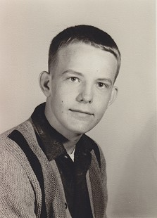Terry Cagle's ninth-grade photo, 1966 © Pryor Center for Arkansas Oral and Visual History, University of Arkansas