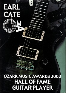 Earl Cate's Ozark Music Award, 2002                                © Pryor Center for Arkansas Oral and Visual History, University of Arkansas