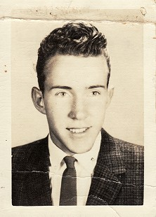 Ernie Cate in his senior class picture, Springdale High School, 1960 © Pryor Center for Arkansas Oral and Visual History, University of Arkansas