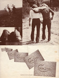 Cate Brothers debut album, <i>Cate Bros.</i> inside cover, 1975 © Pryor Center for Arkansas Oral and Visual History, University of Arkansas