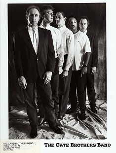 The Cate Brothers Band: Ernie Cate, John Davies, David Renko, Porky Hill, and Earl Cate © Pryor Center for Arkansas Oral and Visual History, University of Arkansas