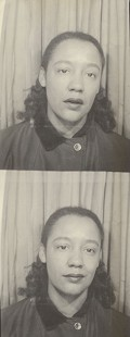 Photo booth images of Margaret Clark © Pryor Center for Arkansas Oral and Visual History, University of Arkansas