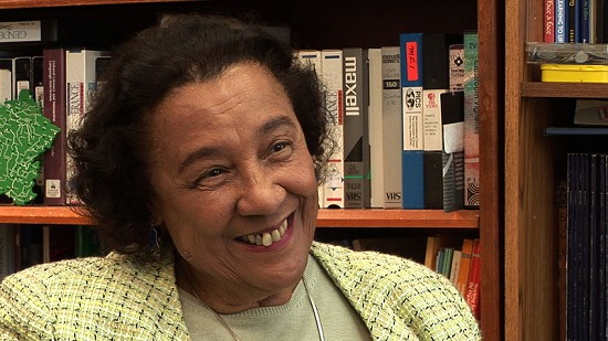 Still frame from Pryor Center video interview with Margaret Clark; Fayetteville, Arkansas, 2006 © Pryor Center for Arkansas Oral and Visual History, University of Arkansas