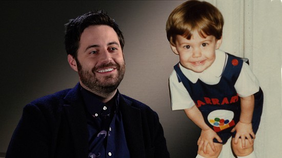 Composite image of early photo of Garrard Conley and still frame from Pryor Center video interview © Pryor Center for Arkansas Oral and Visual History, University of Arkansas