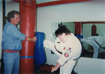 Garrard Conley at a karate class © Pryor Center for Arkansas Oral and Visual History, University of Arkansas