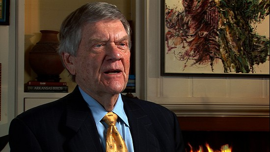 Still frame from Pryor Center video interview with Wayne Cranford; Little Rock, Arkansas, 2012 © Pryor Center for Arkansas Oral and Visual History, University of Arkansas