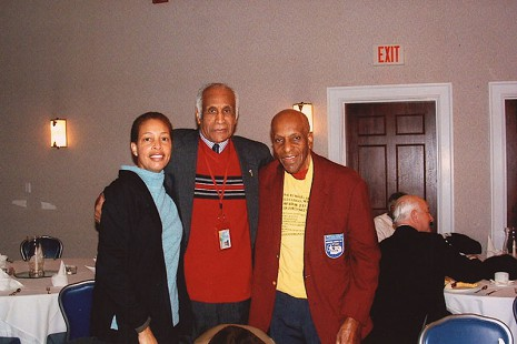 Milton P. Crenchaw (center) and Granville Coggs (right) © Pryor Center for Arkansas Oral and Visual History, University of Arkansas