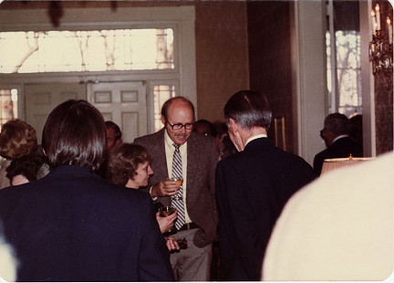 Ernie Dumas at Arkansas Governor's Mansion, 1981 © Pryor Center for Arkansas Oral and Visual History, University of Arkansas