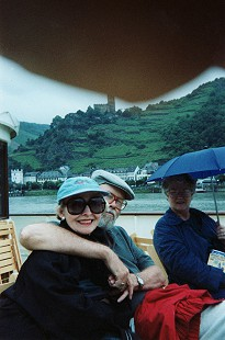 Elaine and Ernie Dumas boating on the Rhine River, Germany, late 1990s © Pryor Center for Arkansas Oral and Visual History, University of Arkansas