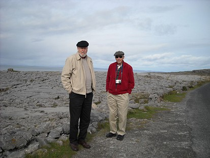 Ernie and his brother, Wayne Dumas in Ireland, 2005 © Pryor Center for Arkansas Oral and Visual History, University of Arkansas