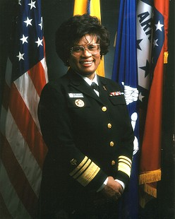 Joycelyn Elders, Surgeon General of the United States © Pryor Center for Arkansas Oral and Visual History, University of Arkansas