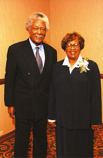 Joycelyn and Oliver Elders © Pryor Center for Arkansas Oral and Visual History, University of Arkansas