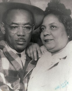 Lizzie Ferguson's parents, Lester and Annie Howard © Pryor Center for Arkansas Oral and Visual History, University of Arkansas