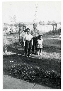 Ferguson siblings: James, Robert, Randall Jr., and Jeanette; April 1960 © Pryor Center for Arkansas Oral and Visual History, University of Arkansas