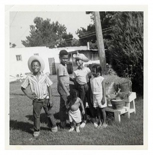 Ferguson siblings: James, Randall Jr., Robert, John, and Jeanette, ca. 1962 © Pryor Center for Arkansas Oral and Visual History, University of Arkansas