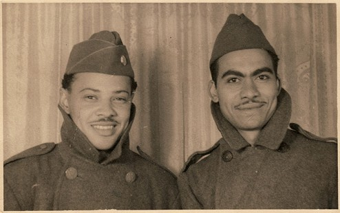 Thomas Reynolds and Randall Ferguson Sr., 1942 © Pryor Center for Arkansas Oral and Visual History, University of Arkansas
