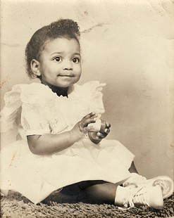 Randall Sr. and Lizzie Ferguson's daughter, Jeanette, 15 months old, ca. 1959 © Pryor Center for Arkansas Oral and Visual History, University of Arkansas