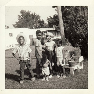 Randall Sr. and Lizzie Ferguson's children: James, Randall Jr., Robert, John, and Jeanette, ca. 1962 © Pryor Center for Arkansas Oral and Visual History, University of Arkansas