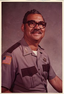 Randall Ferguson Sr., deputy sheriff, ca. 1971 © Pryor Center for Arkansas Oral and Visual History, University of Arkansas