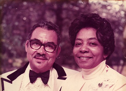 Lizzie and Randall Ferguson Sr. at the wedding of their son, Robert, 1974 © Pryor Center for Arkansas Oral and Visual History, University of Arkansas