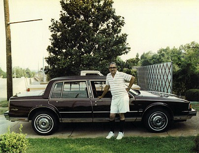 Randall Ferguson Sr. in front of his house on Lincoln Drive; Camden, Arkansas, mid-1980s © Pryor Center for Arkansas Oral and Visual History, University of Arkansas